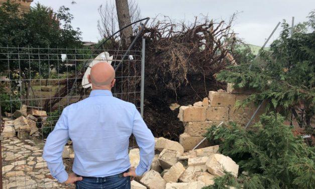 Il Deputato Giovanni Luca Aresta (M5S) esprime la propria vicinanza ai cittadini di Manduria per i danni del maltempo