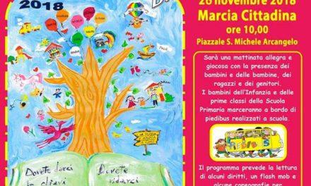 """Lunedì 26 novembre c'è """"La marcia dei diritti dei bambini"""""""
