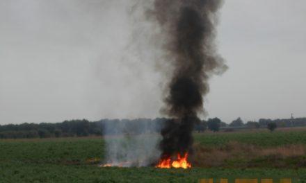 Incendio rifiuti pericolosi, i Vigili Urbani denunciano un uomo