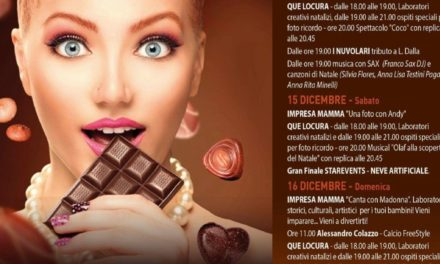 """Brindisi, apre oggi """"La Magia del Cioccolato"""""""