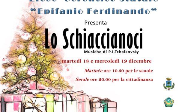 """""""Lo Schiaccianoci"""" al Liceo Coreutico Statale """"Epifanio Ferdinando"""""""