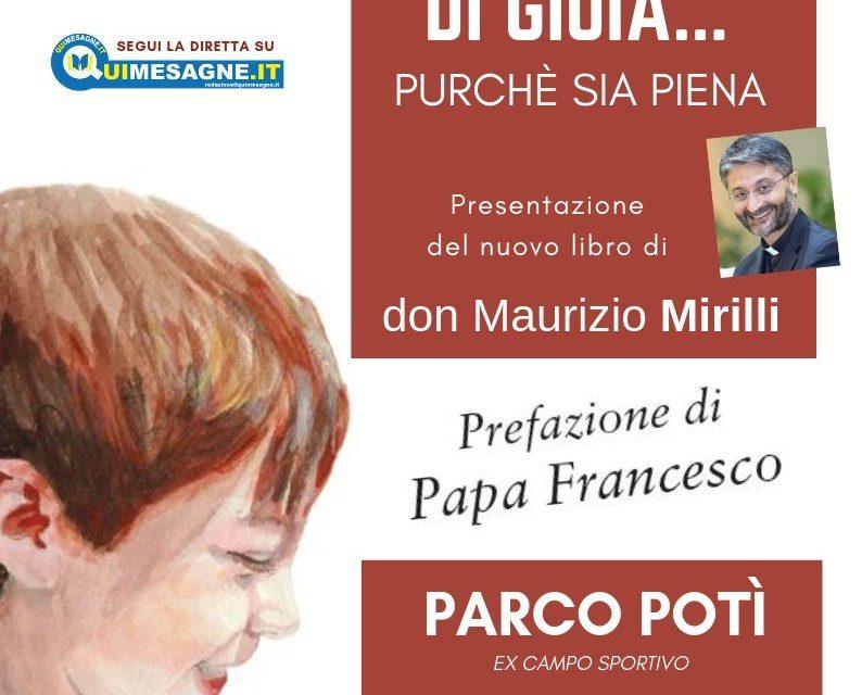 Un Briciolo di gioia… il 4 Gennaio la presentazione del libro di don Maurizio Mirilli