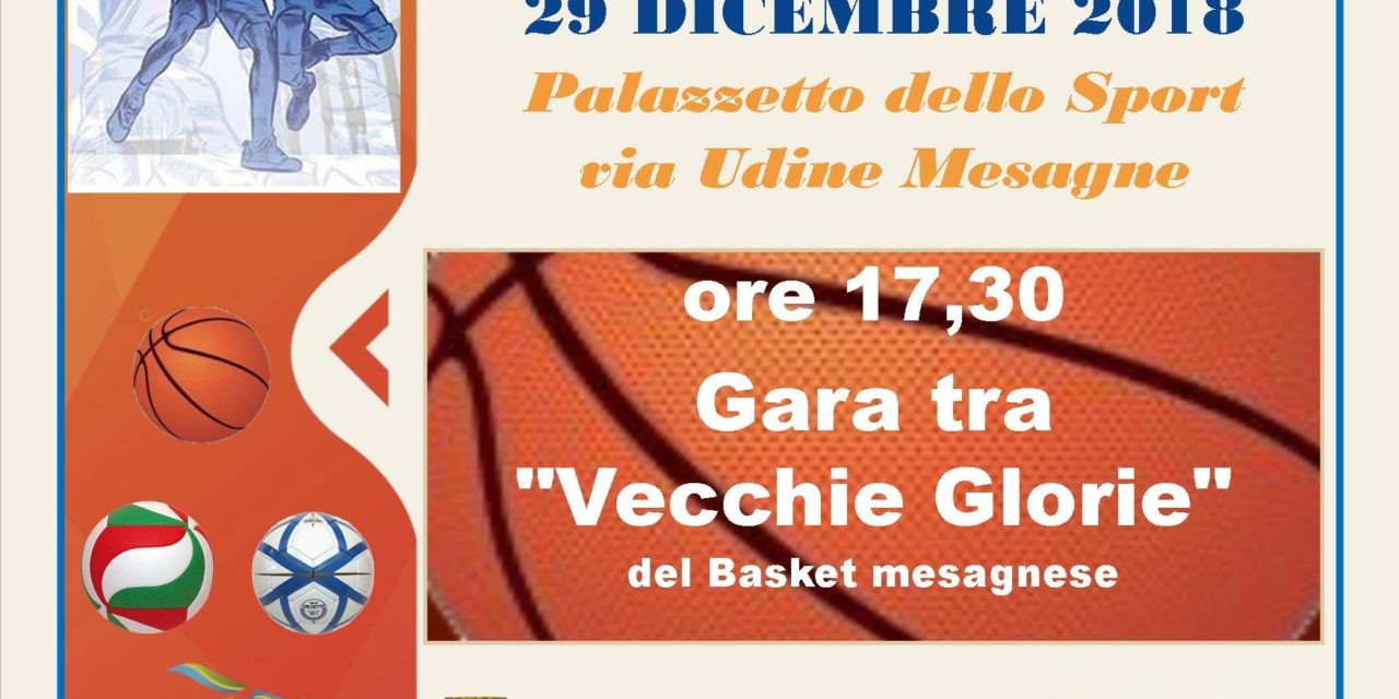 """Domani 29 dicembre la """"Festa dei Campioni"""" a cura del C.S.I. Provinciale"""
