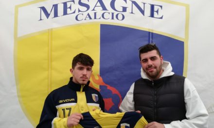 Il giovane Luca Petruccetti è un nuovo giocatore del Mesagne Calcio
