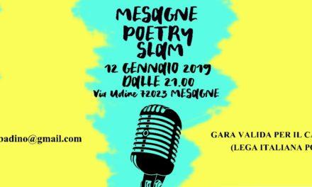 """Sabato 12 Gennaio al Salento Fun Park c'è """"Mesagne Poetry Slam"""""""