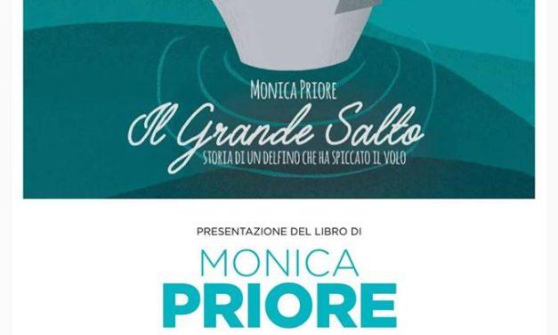 """Sabato 2 febbraio Monica Priore presenta il suo libro """"Il grande Salto – Storia di un delfino che ha spiccato il volo"""""""
