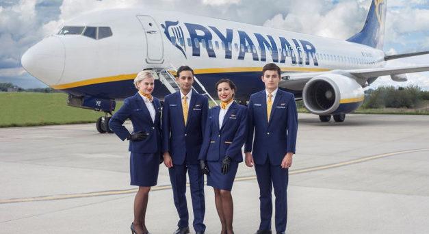 Vi piacerebbe diventare Assistenti di Volo Ryanair?