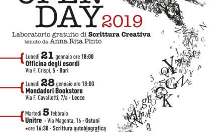 L'Open Day di Cine Script a Bari, Ostuni e Lecce