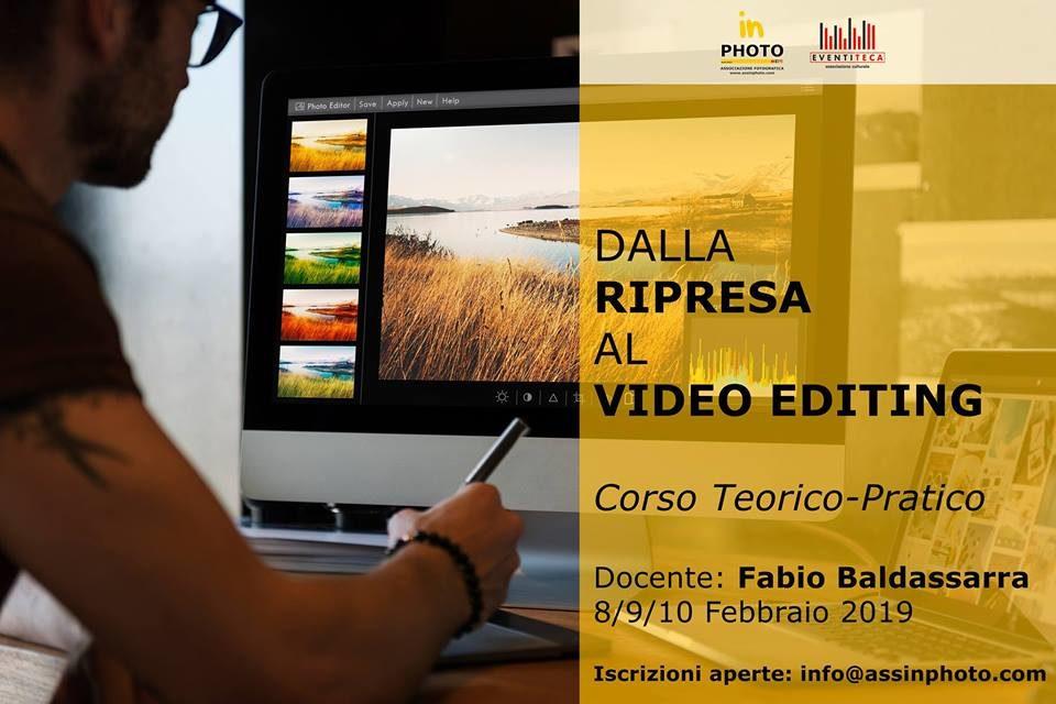 OPEN DAY DI RIPRESA E VIDEO EDITING A CURA DELL'ASSOCIAZIONE INPHOTO