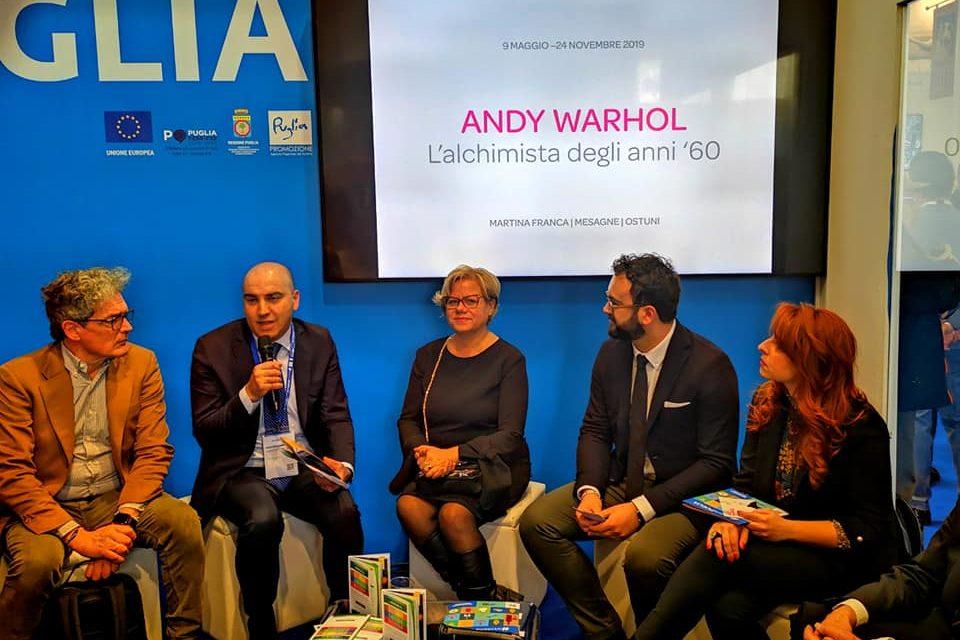 """Presentata alla BIT di Milano la mostra """"Andy Warhol. L'alchimista degli anni 60″"""