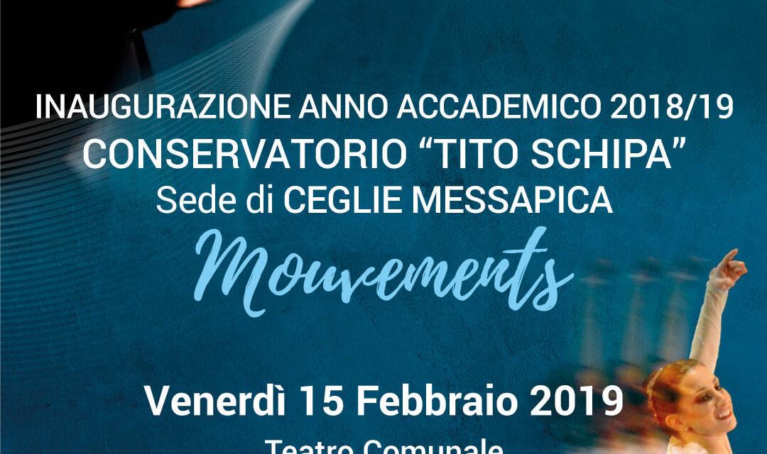 Venerdì 15 a Ceglie Messapica l'inaugurazione dell'Anno Accademico del Conservatorio