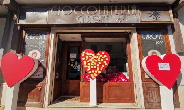 """Grande successo per il concorso della Cioccolateria Carone 1951 """"L'Amore è…"""""""