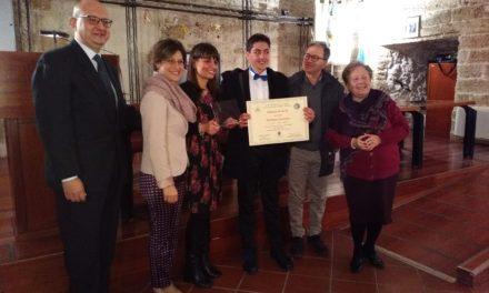Il notaio Massari consegna borse di studio alle medie, tra i premiati Stefano Molfetta