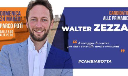 """Walter Zezza: """"Rimbocchiamoci le maniche perché Mesagne non può più restare ferma a guardare"""""""