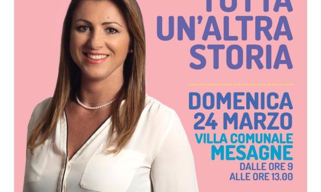 Domenica Rosanna Saracino incontra i cittadini in Villa