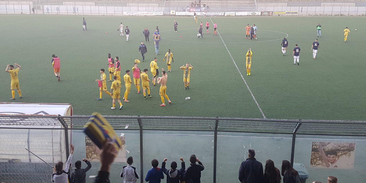 Playout: il Mesagne Calcio 2011 vince 2-0 lo scontro salvezza