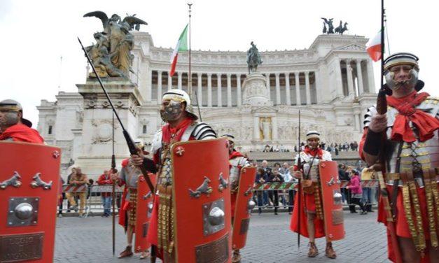 Anche il gruppo storico latianese ai Natali di Roma