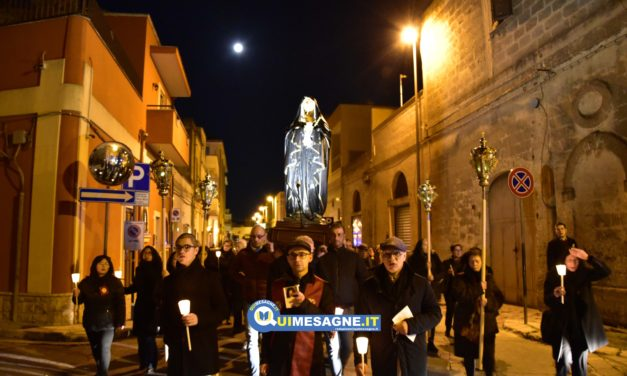 Processione dell'Addolorata dalla Chiesa di Santa Maria – Sabato Santo 2019
