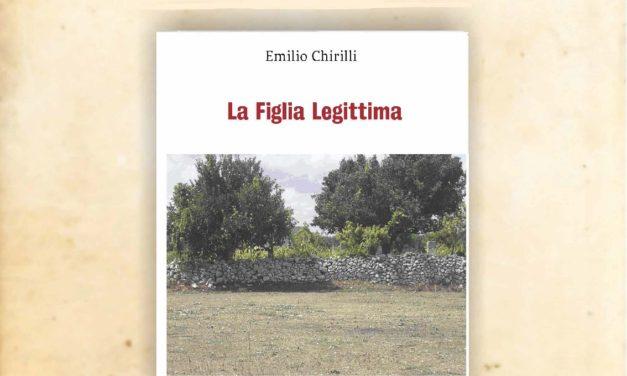 """Sabato 13 aprile a Brindisi presentazione romanzo """"La figlia legittima"""" di Emilio Chirilli"""