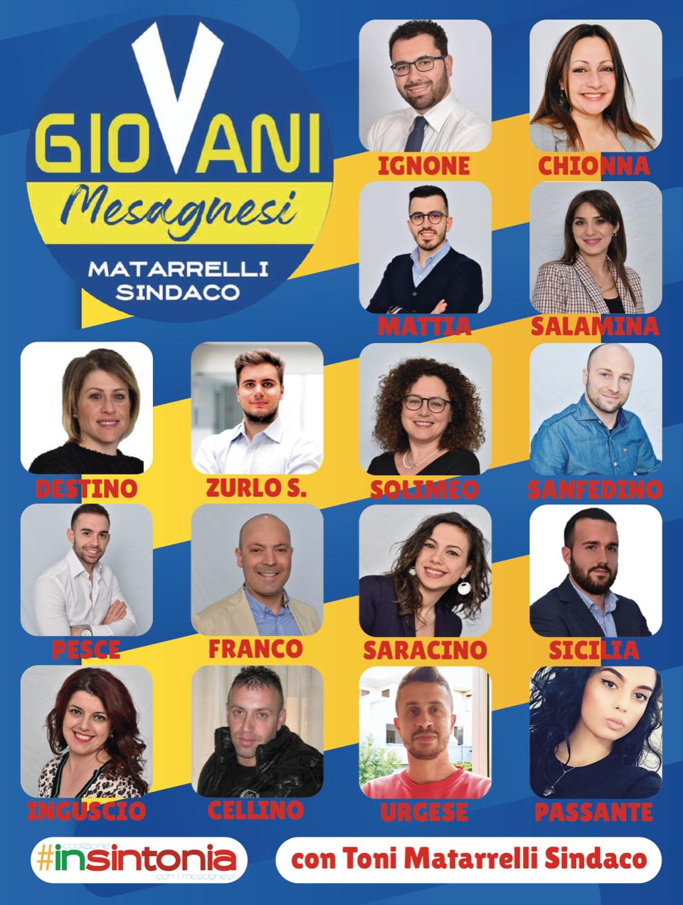 """Comunicato stampa - Lista """"GioVani Mesagnesi"""" per Toni ..."""