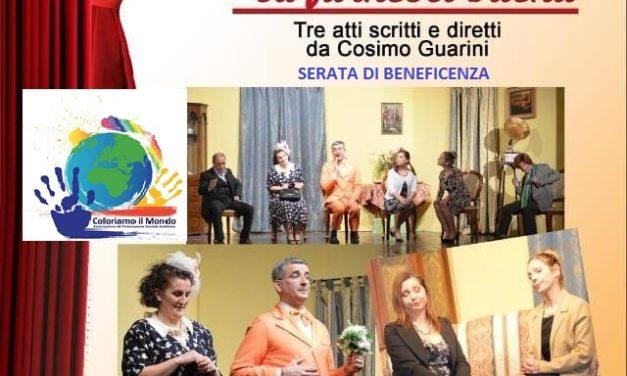 Coloriamo il Mondo e la Compagnia Nuovo Teatro per la Giornata Mondiale della consapevolezza sull'Autismo