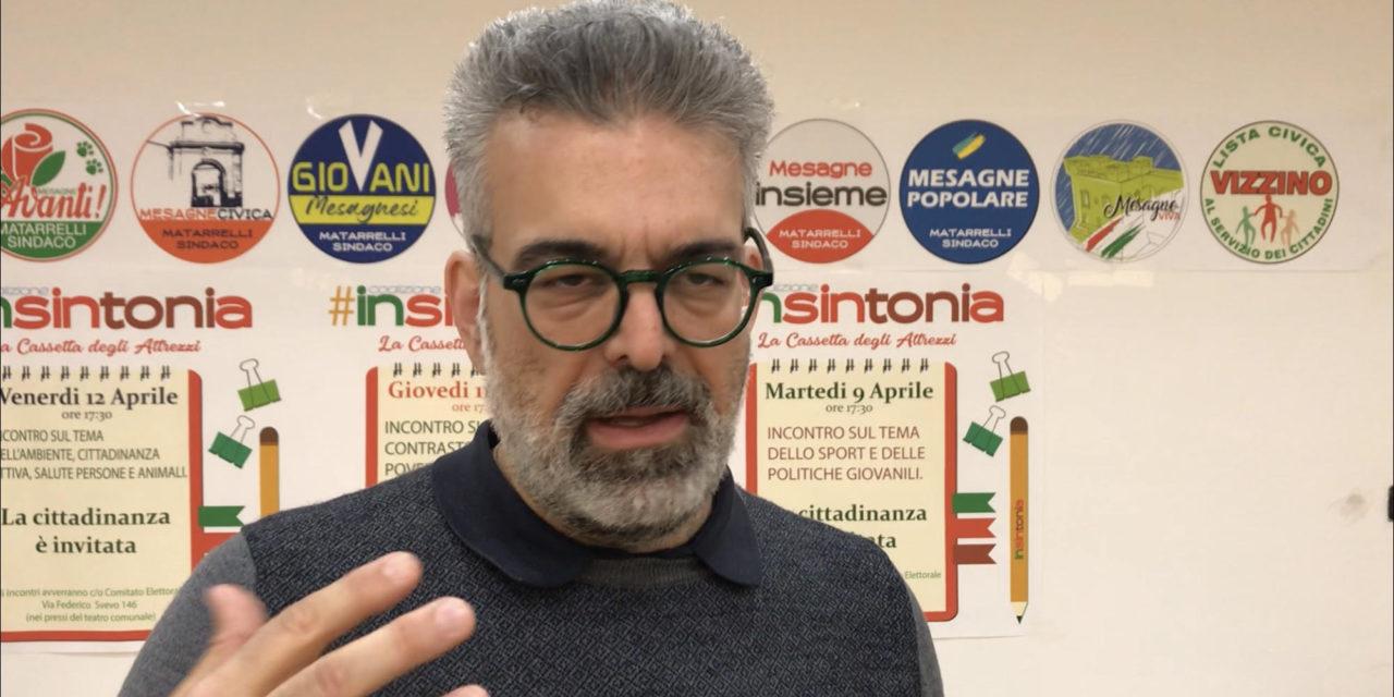 """Matarrelli: """"Il mio numero di cellulare ai cittadini, proficuo soprattutto per me"""""""