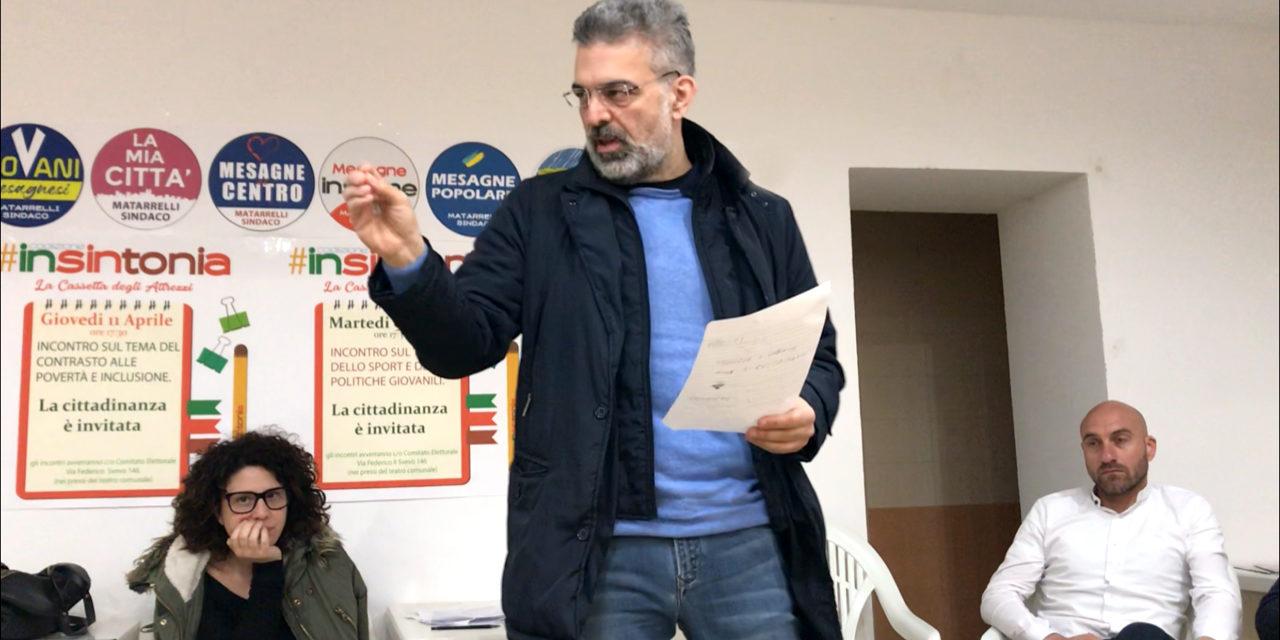 """Matarrelli (Insintonia): """"Partecipazione non uno slogan, ma il nostro metodo"""""""