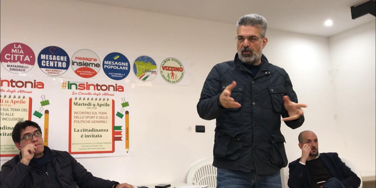 """Matarrelli (""""Insintonia""""): """"Il sindaco ha il dovere di promuovere la salute"""""""