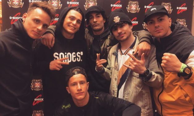 "La crew ""The Italians"" vince a Londra la UK BBoy Championship di break dance"