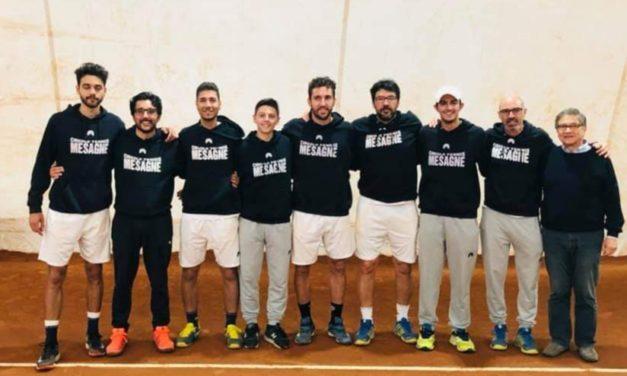 """Il """"De Guido"""" impatta tre pari nella finale di andata di serie C di Tennis"""