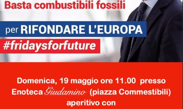 Domenica 19 maggio arriva a Mesagne l'Europarlamentare Massimo Paolucci
