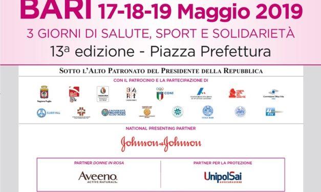 """La Asl di Brindisi partecipa alla """"Race for the Cure"""" di Bari"""