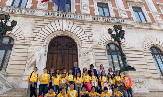 """Aresta (M5S): """"Alunni della scuola elementare """"Borsellino"""" di Mesagne, orgoglioso della loro visita in Parlamento"""""""