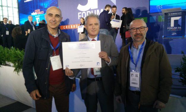 Il Comune di Mesagne premiato al Forum della Pubblica Amministrazione