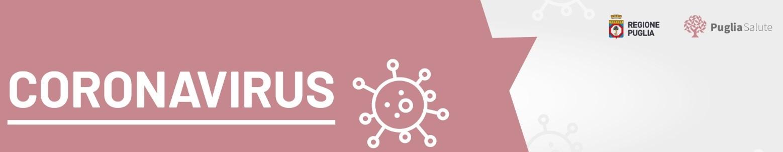 Indicazioni della Regione Puglia in merito alla situazione del  Coronavirus