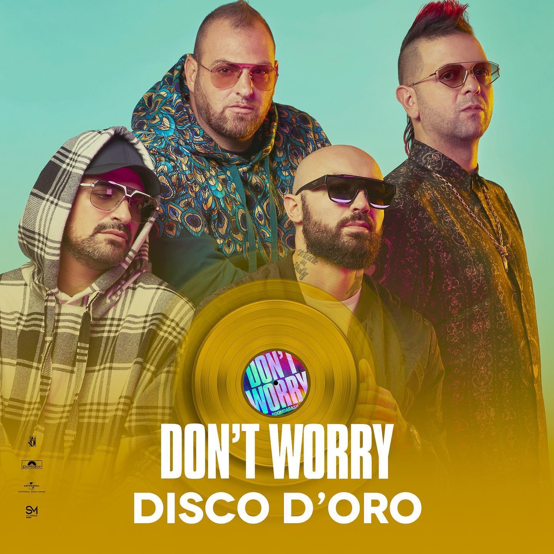Don't Worry dei Boomdabash conquista il Disco D'Oro - Qui Mesagne -  Quotidiano web della Città di Mesagne